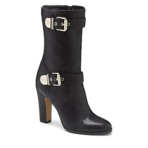 NEW VINCE CAMUTO CALLISON LEATHER CALF BOOTS